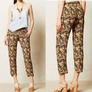 Anthropologie La Vie by Sam & Lavi Tea Rose Jogger